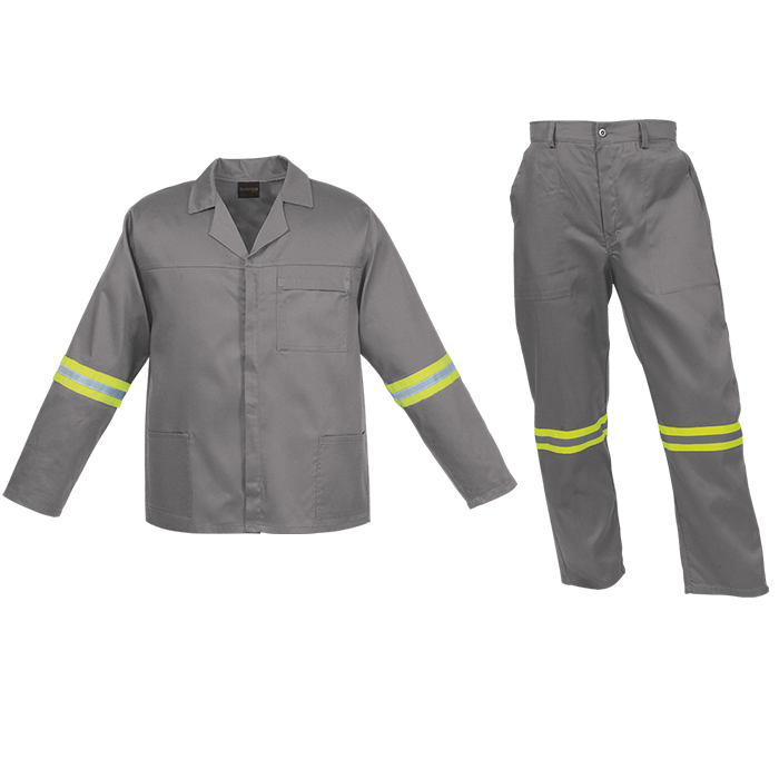 Shirt and Trouser industrial wear - Grey